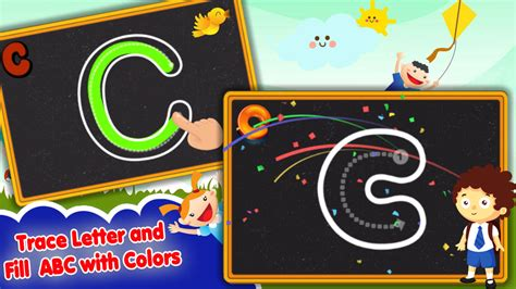abc  tracing  toddlers learn alphabet letters