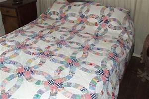 amish wedding ring quilt double wedding ring quilt for With wedding ring quilt pattern