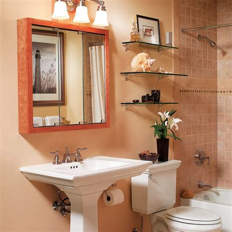 Fancy Mirrors For Bathrooms by Stylish Design Ideas For The Small Bathroom