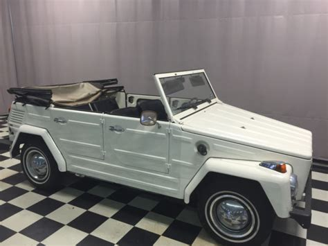 1973 Volkswagen Thing Type 181 Convertible For Sale