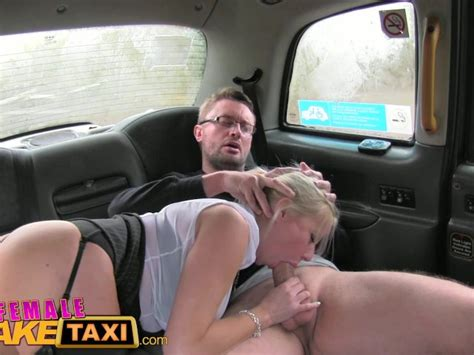 Female Fake Taxi Reporter Receives Hot Sex Scoop And