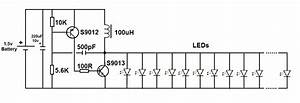 15v led flashlight circuit simple projects With led torch circuit