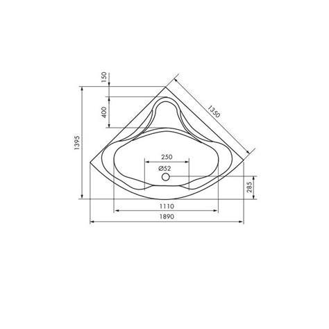 Dimensions Baignoire D Angle by Baignoire Angle Dimension Ciabiz