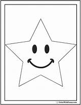 Coloring Star Pages Kindergarten Pdf Printable Student Template Colorwithfuzzy sketch template