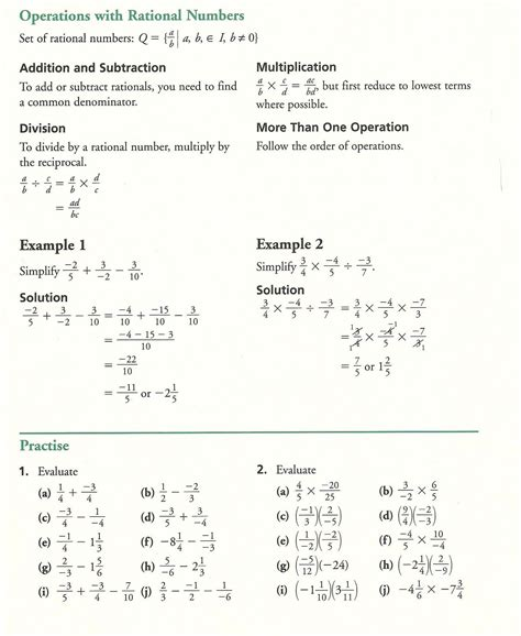 grade 10 academic math fractions practice mathematics education fractions fractions