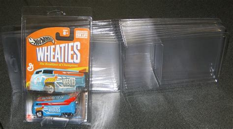 hot wheels blister pack plastic protector stackable