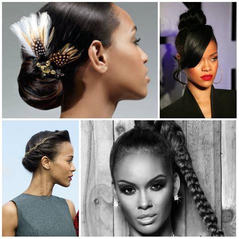 Updo Hairstyles Black Women 2017