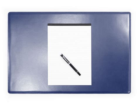 sous de bureau en cuir sous de bureau en cuir bleu sm700