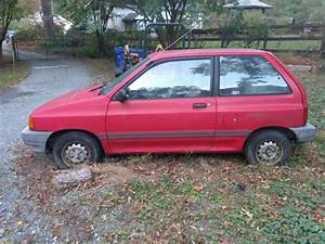 1988 Ford Festiva Lx Hatchback 2-door 1 3l
