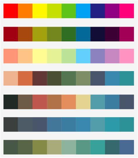 design practice: colour palette suggestions