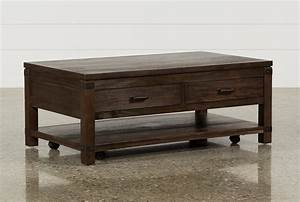 Livingston Cocktail Table WDrawers Living Spaces