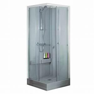 douche bricoman porte de douche coulissante bricoman cfa With porte de douche coulissante avec meuble salle de bain custom aurlane
