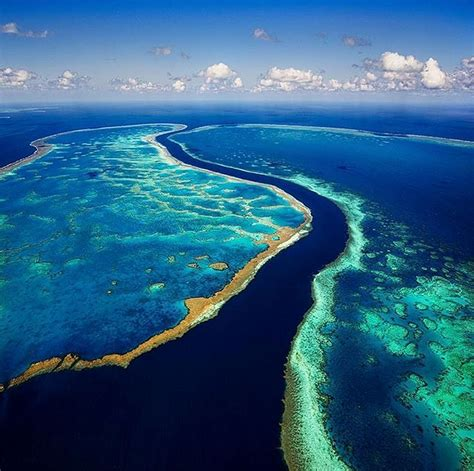 reef barrier australia beauty coast australian cliffs reefs colorful mesmerize east most north towering travellers autobarn queensland scenic northwest luxurytravel