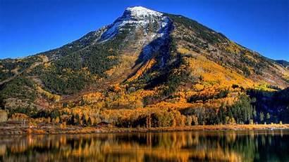 Fall Wallpapers Season Mountain Desktop