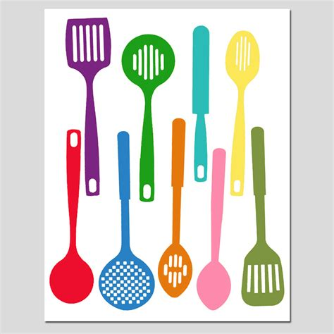 Kitchen Utensils Clipart Kitchen Clipart Cooking Equipment Pencil And In Color