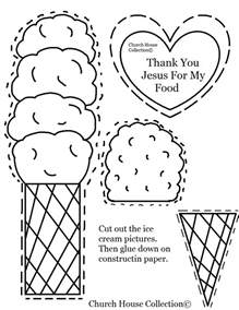 church house collection cut out quot thank you jesus for my food quot by church house