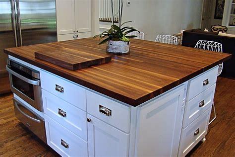wood island tops kitchens walnut countertop 28 images blackbirchfarm black