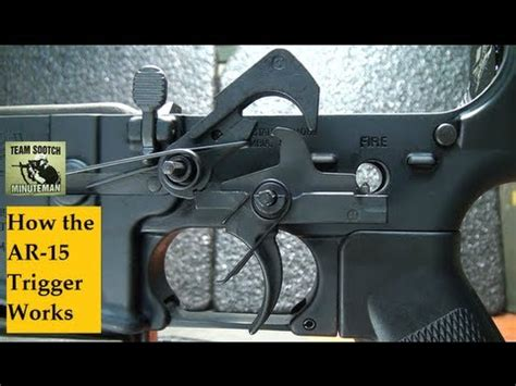 How the AR-15 Trigger Works - YouTube