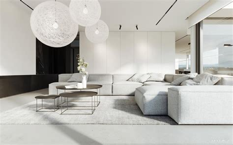 white living rooms  exude purity  peace