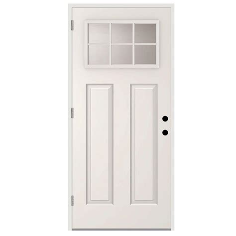 right outswing exterior door steves sons 36 in x 80 in 6 lite right outswing