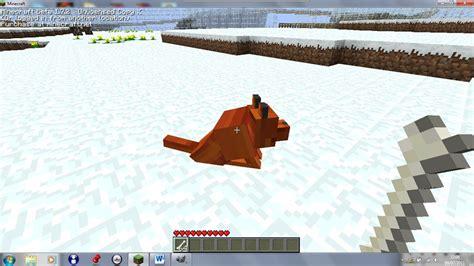 tame pet fox texture minecraft mod