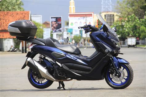 Modifikasi Yamaha Nmax by Modifikasi Yamaha Nmax Si Blueskie Doyan Turing