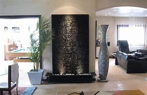 incroyable decoration interieur avec pierre 1 mur deau With salle de bain design avec fontaine décorative d intérieur