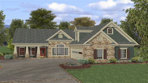 ranch homes designs rustic ranch style homes with stone rustic ranch style