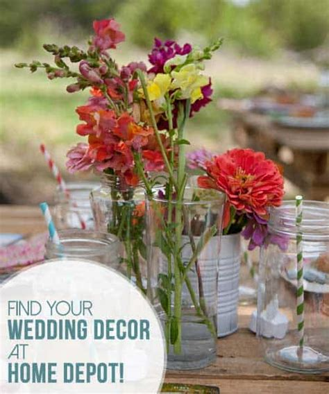 find your wedding decor at home depot kiss my tulle