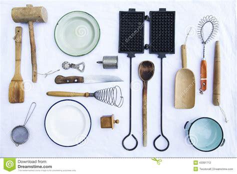 vieux ustensiles de cuisine photo stock image 43391712