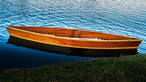 Canoe Flats Boat by Wooden Boat Building Time Lapse 14 Foot Quot 2 Quot Pirogue