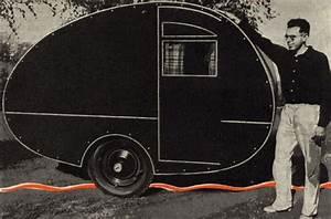 Vintage Teardrop Trailer Campers Chuck Wagon Plans  Midget