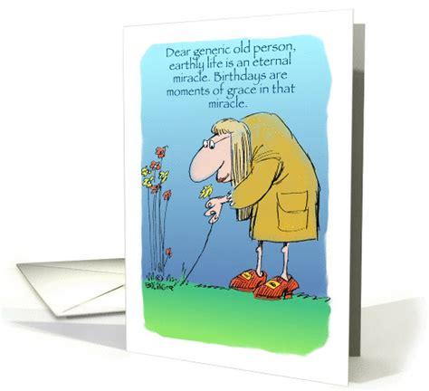 amusing happy birthday   generic  person cartoon