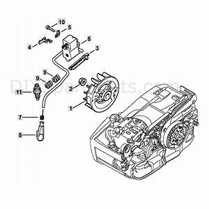 Stihl Ms 201 T Chainsaw  Ms201 T  Parts Diagram  Ignition System