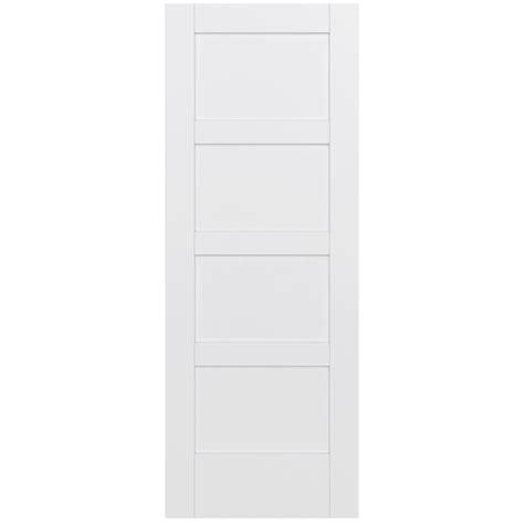 wood interior doors home depot jeld wen 32 in x 80 in moda primed pmp1044 solid