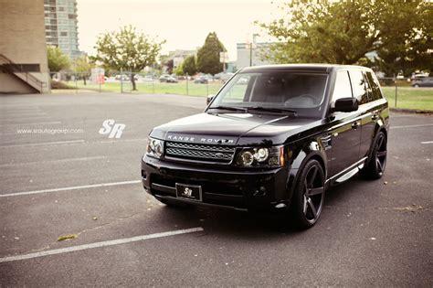 Range Rover Sport Gets Dark Look with Vossen Wheels ...