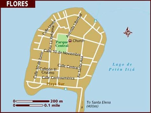 map  flores