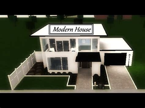 roblox   bloxburg modern house youtube