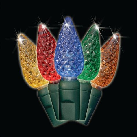 25 light led multi color c7 light set set of 2 brite