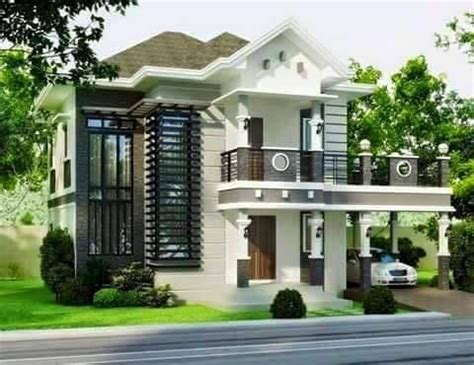 simple bungalow house design  terrace simple diy home plans architecture