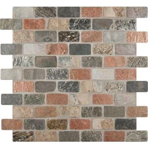 msi stone ulc multi color 1 in x 2 in tumbled slate