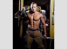 Firefighter sizzles in calendar Stuffconz