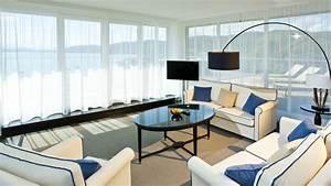 Interior Design Style Living Room Windows Curtain