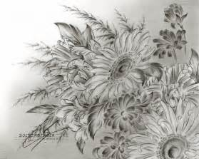 Flower Pencil Drawings
