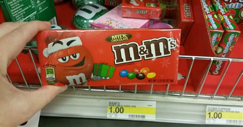 25% Off Candy Today Only = M&m Holiday Boxes Only