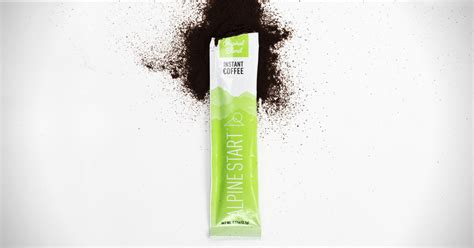 Just pour a scoop, mix with. Alpine Start Instant Coffee | HiConsumption