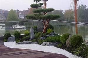 Asiatische Gärten Gestalten : japanischer garten auf dachterrasse traumhaftes wohnen im penthouse mit japangarten ~ Sanjose-hotels-ca.com Haus und Dekorationen