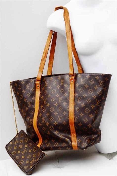 louis vuitton sac shopping monogramauthentic luxury tote bag