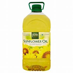 White Pearl Sunflower Oil 5 Litres - Bestway Wholesale