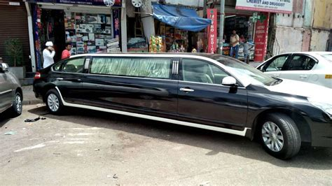 Nissan Teana Modification by Illegally Modified Nissan Teana Stretch Limousine Seized